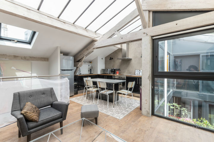 Unique French Atypical Loft 11
