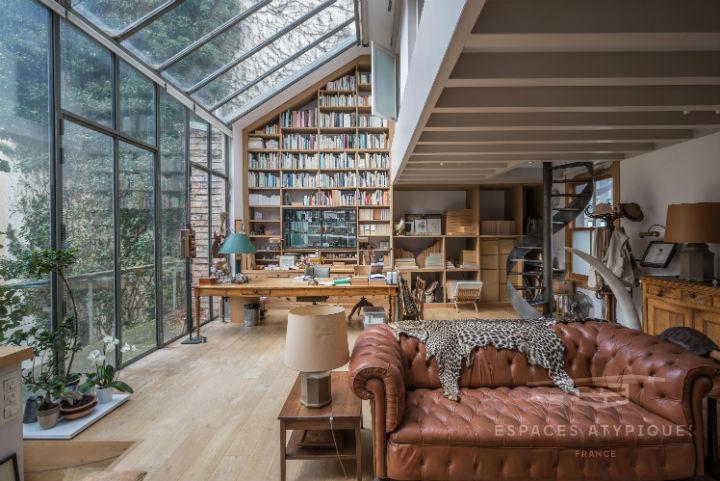 Unique French Atypical Loft 16
