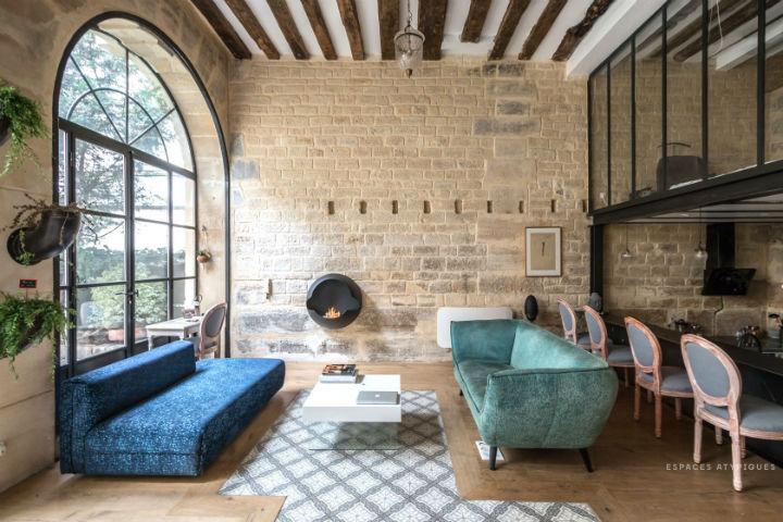 Unique French Atypical Loft 13
