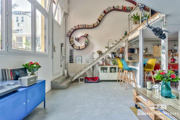 Unique French Atypical Loft 8