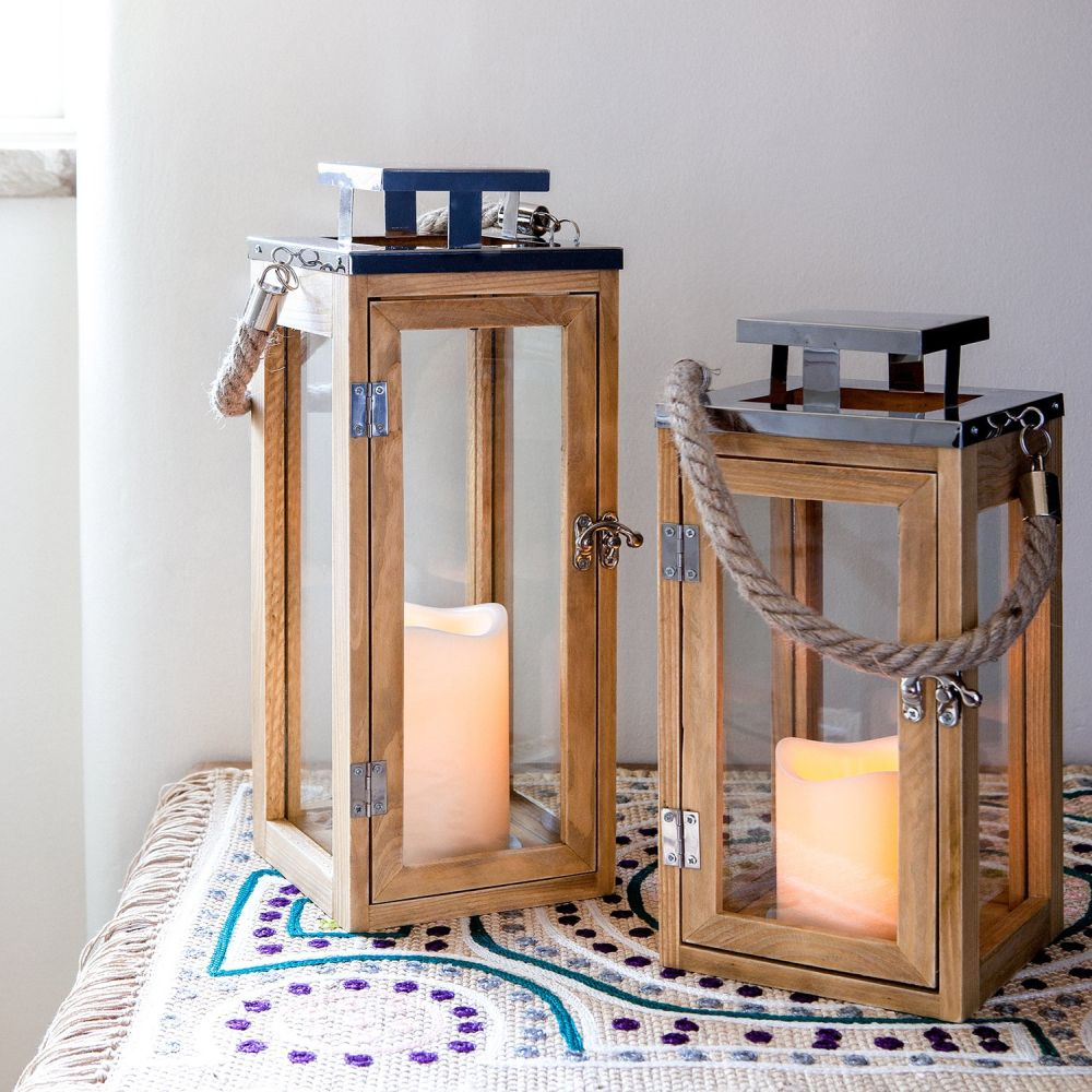 1560499822 215 15 beautiful outdoor lanterns to brighten up your evenings - 15 Beautiful Outdoor Lanterns To Brighten Up Your Evenings