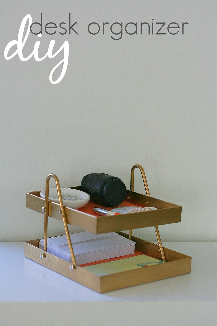 1560528387 480 20 diy desk organizer ideas and projects to try - 20 DIY Desk Organizer Ideas and Projects to Try