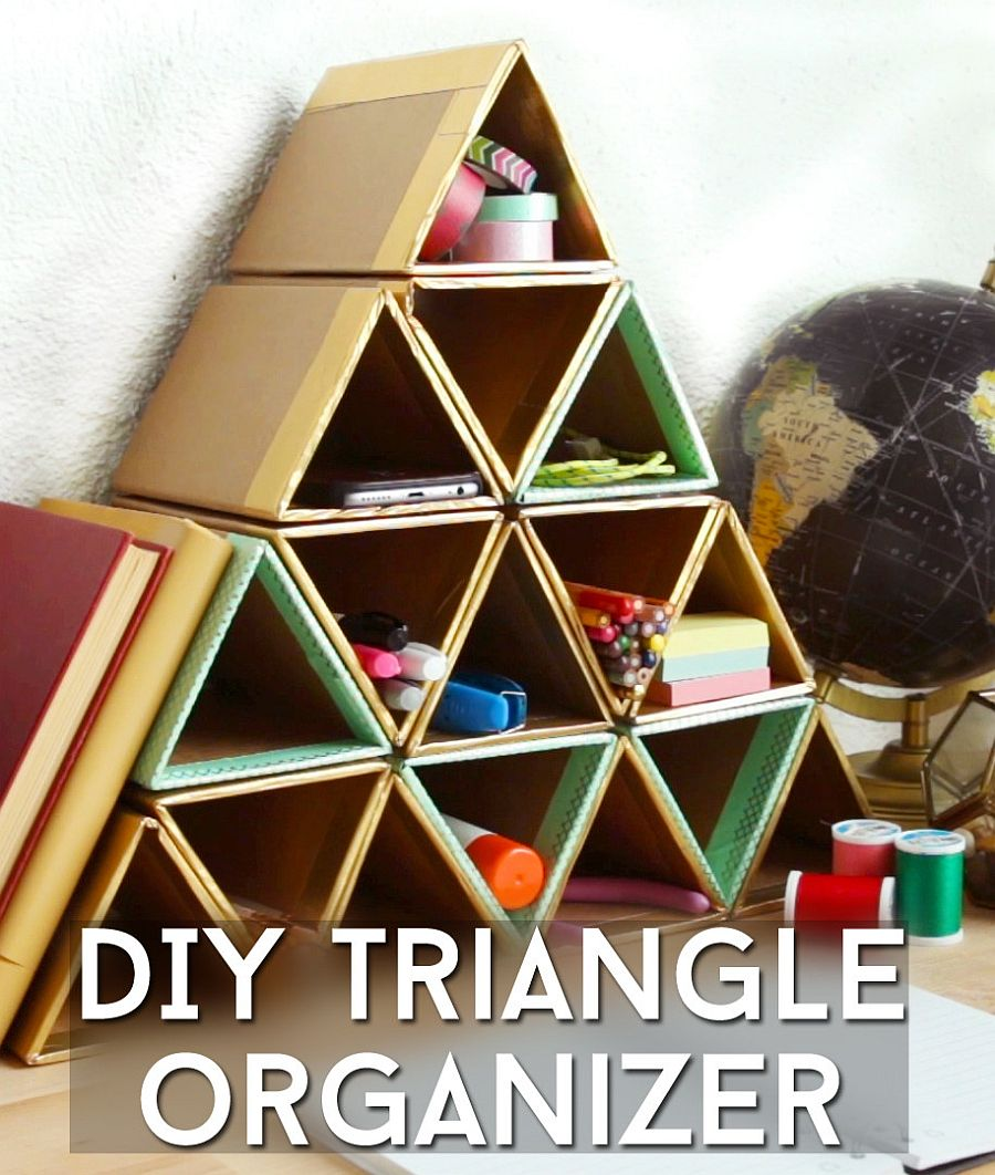 1560528387 712 20 diy desk organizer ideas and projects to try - 20 DIY Desk Organizer Ideas and Projects to Try