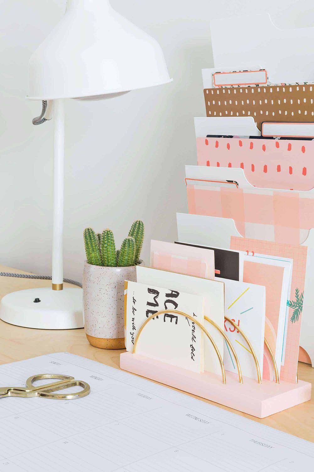 1560528387 72 20 diy desk organizer ideas and projects to try - 20 DIY Desk Organizer Ideas and Projects to Try