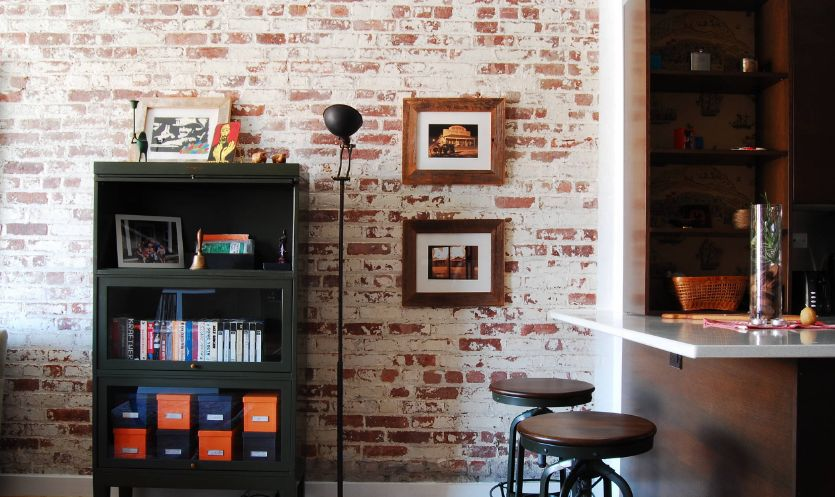 1560860704 954 20 stylish ways to bring brick wallpaper into your home - 20 Stylish Ways To Bring Brick Wallpaper Into Your Home