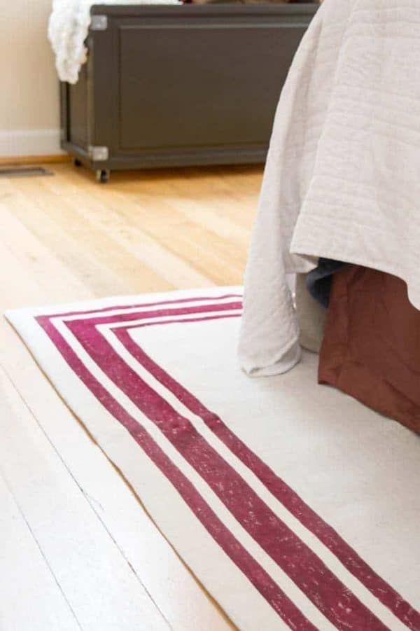 1560951997 139 how to add character to your home with a diy rug - How To Add Character To Your Home With A DIY Rug