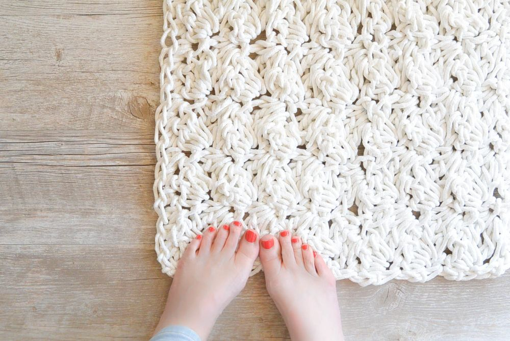 1560951997 822 how to add character to your home with a diy rug - How To Add Character To Your Home With A DIY Rug