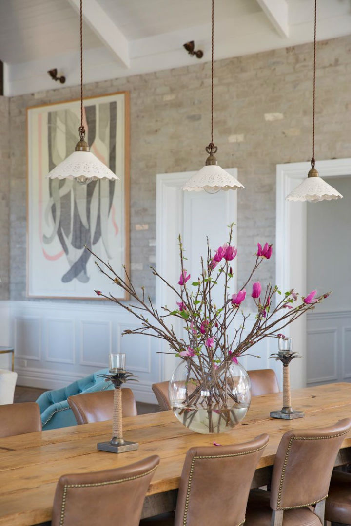 Interiors With Use of Natural Materials 21