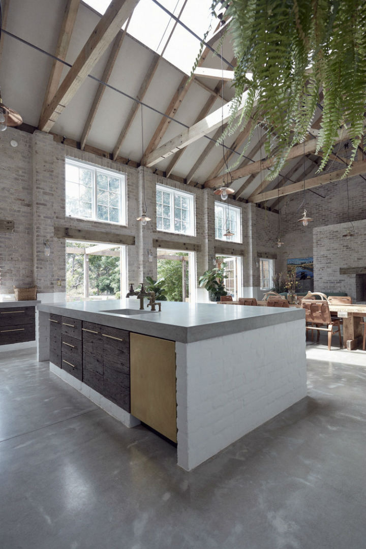 Interiors With Use of Natural Materials 6
