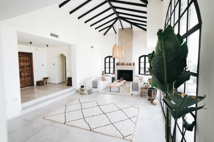 Spanish villa Ethnic-Scandinavian dream home 4