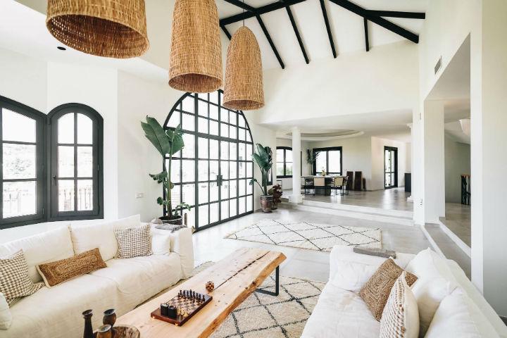 Spanish villa Ethnic-Scandinavian dream home 5