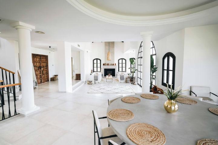 Spanish villa Ethnic-Scandinavian dream home 6