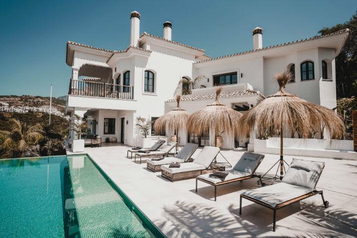 Spanish villa Ethnic-Scandinavian dream home 17