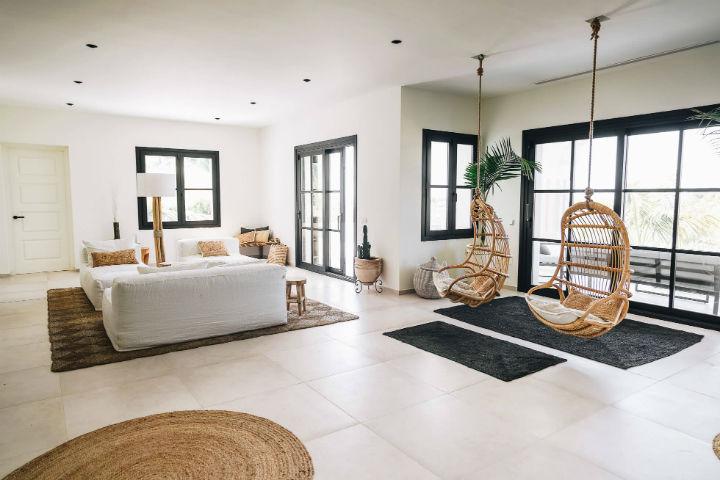 Spanish villa Ethnic-Scandinavian dream home 15
