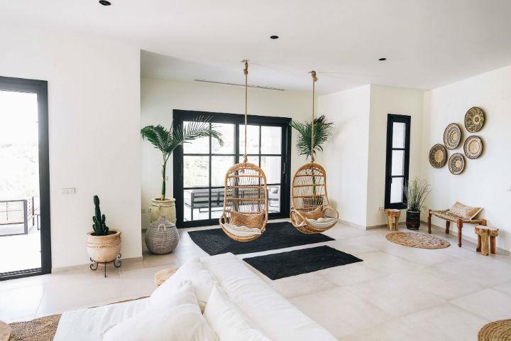 Spanish villa Ethnic-Scandinavian dream home 16