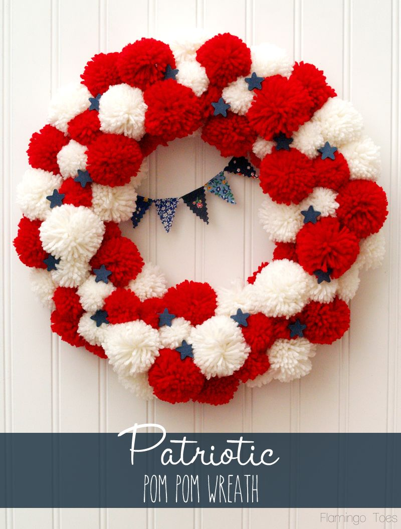 1561548146 254 cool 4th of july wreath ideas that would look perfect on your front door - Cool 4th of July Wreath Ideas That Would Look Perfect On Your Front Door