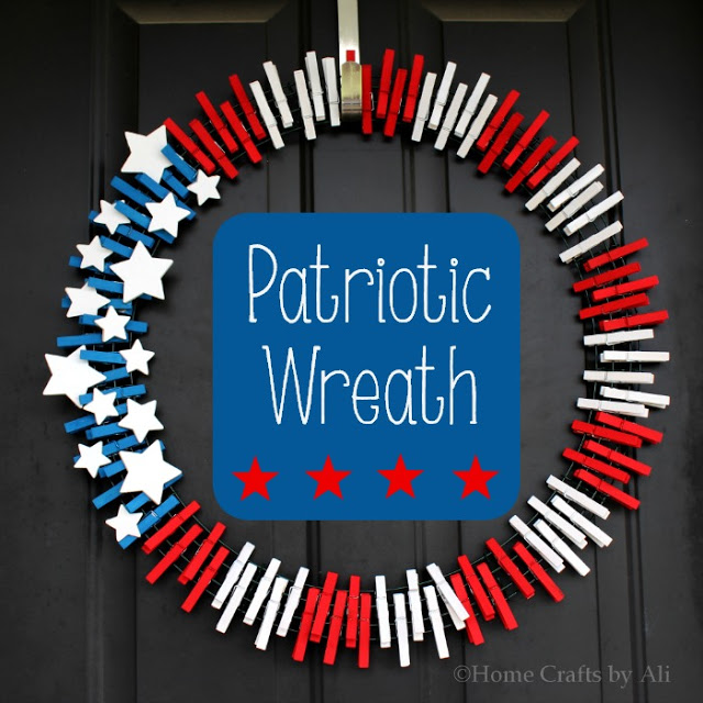 1561548146 320 cool 4th of july wreath ideas that would look perfect on your front door - Cool 4th of July Wreath Ideas That Would Look Perfect On Your Front Door