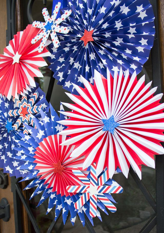 1561548146 385 cool 4th of july wreath ideas that would look perfect on your front door - Cool 4th of July Wreath Ideas That Would Look Perfect On Your Front Door