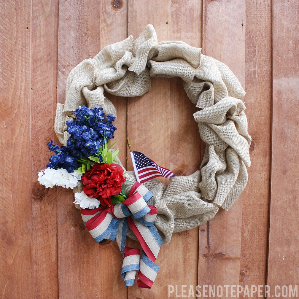 1561548146 677 cool 4th of july wreath ideas that would look perfect on your front door - Cool 4th of July Wreath Ideas That Would Look Perfect On Your Front Door