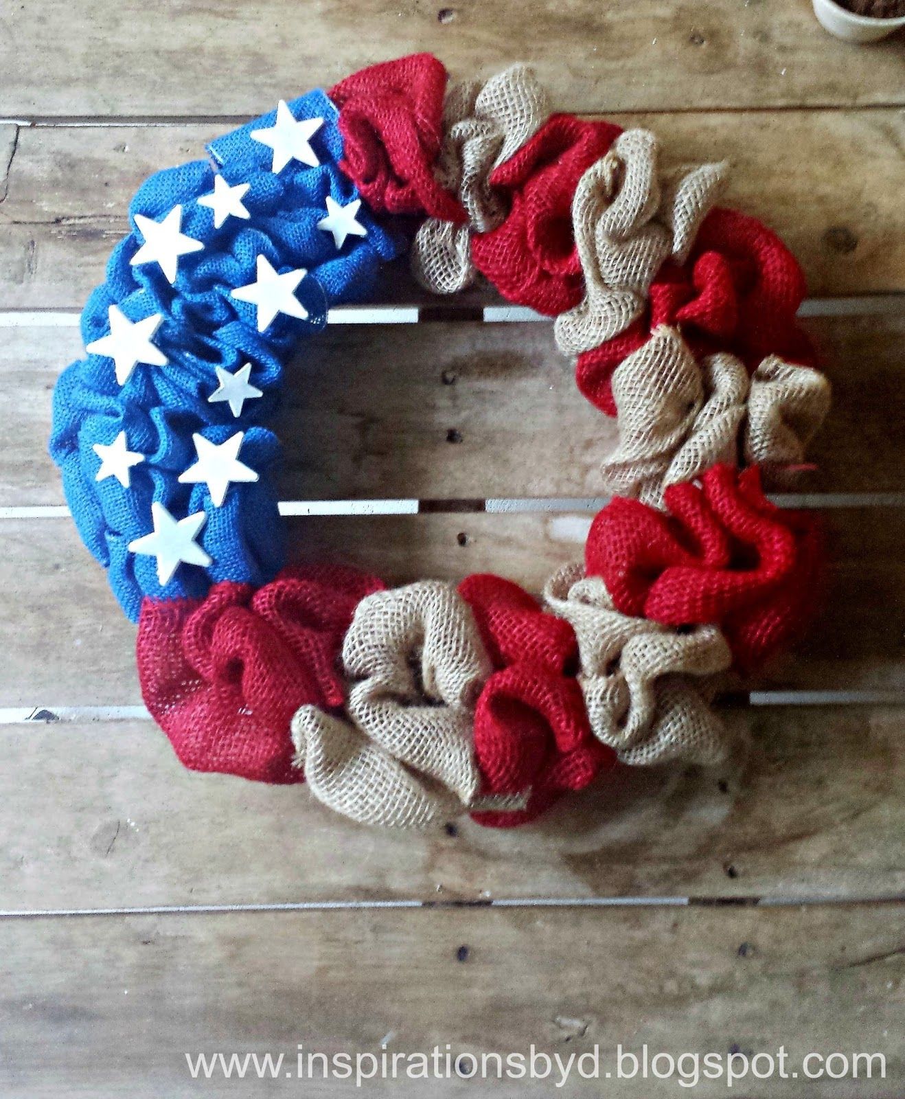 1561548146 96 cool 4th of july wreath ideas that would look perfect on your front door - Cool 4th of July Wreath Ideas That Would Look Perfect On Your Front Door