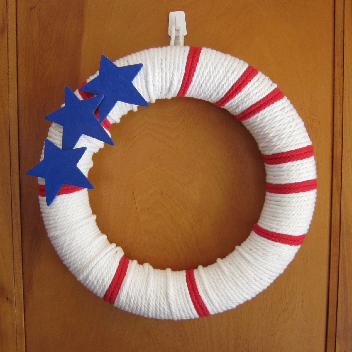 1561548147 655 cool 4th of july wreath ideas that would look perfect on your front door - Cool 4th of July Wreath Ideas That Would Look Perfect On Your Front Door