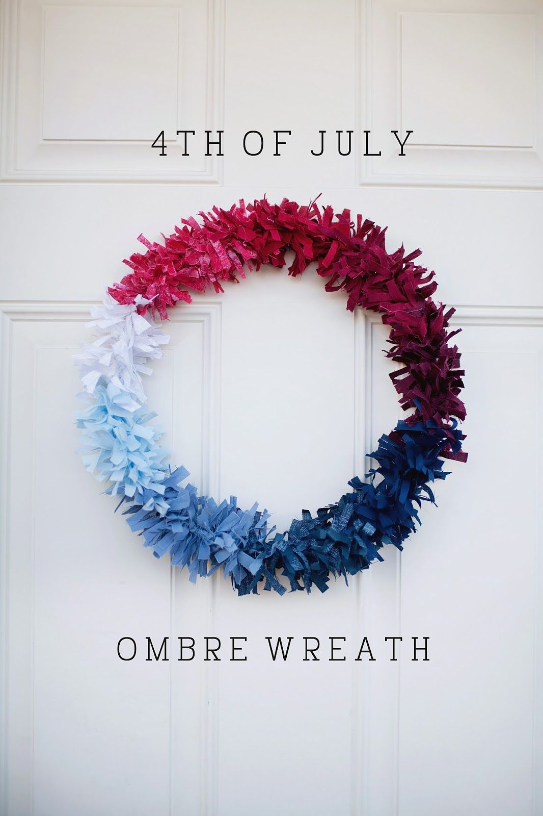 1561548147 828 cool 4th of july wreath ideas that would look perfect on your front door - Cool 4th of July Wreath Ideas That Would Look Perfect On Your Front Door
