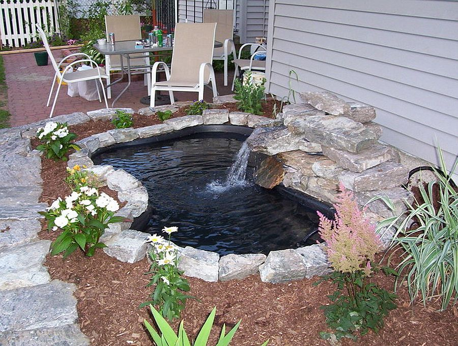 25 cheap diy ponds to bring life to your garden - 25 Cheap DIY Ponds to Bring Life to Your Garden