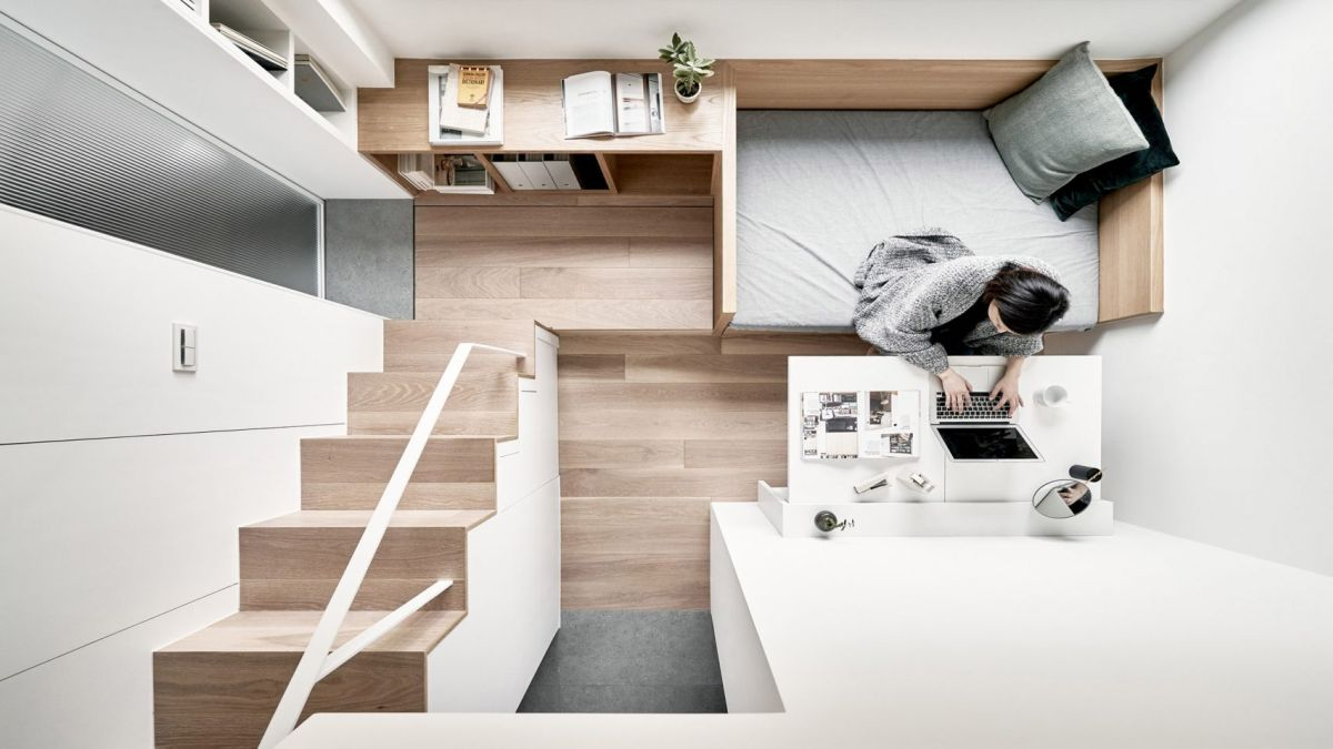 a little design creates an inspiring micro apartment remodel in taipei - A Little Design Creates An Inspiring Micro Apartment Remodel In Taipei