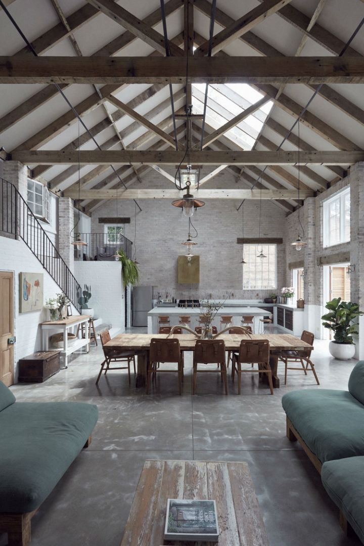 Beautiful and Timeless Interiors With Use of Natural Materials