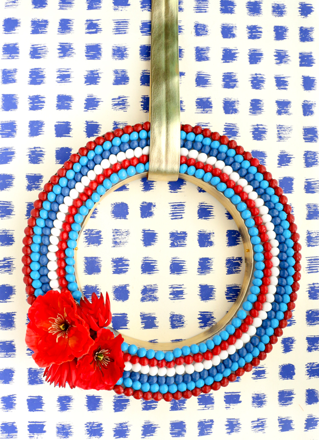 cool 4th of july wreath ideas that would look perfect on your front door - Cool 4th of July Wreath Ideas That Would Look Perfect On Your Front Door