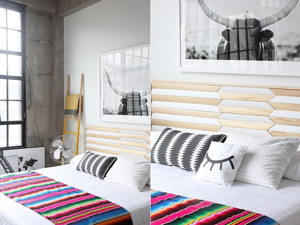 how to make a headboard 35 great ideas - How to Make a Headboard: 35 Great Ideas