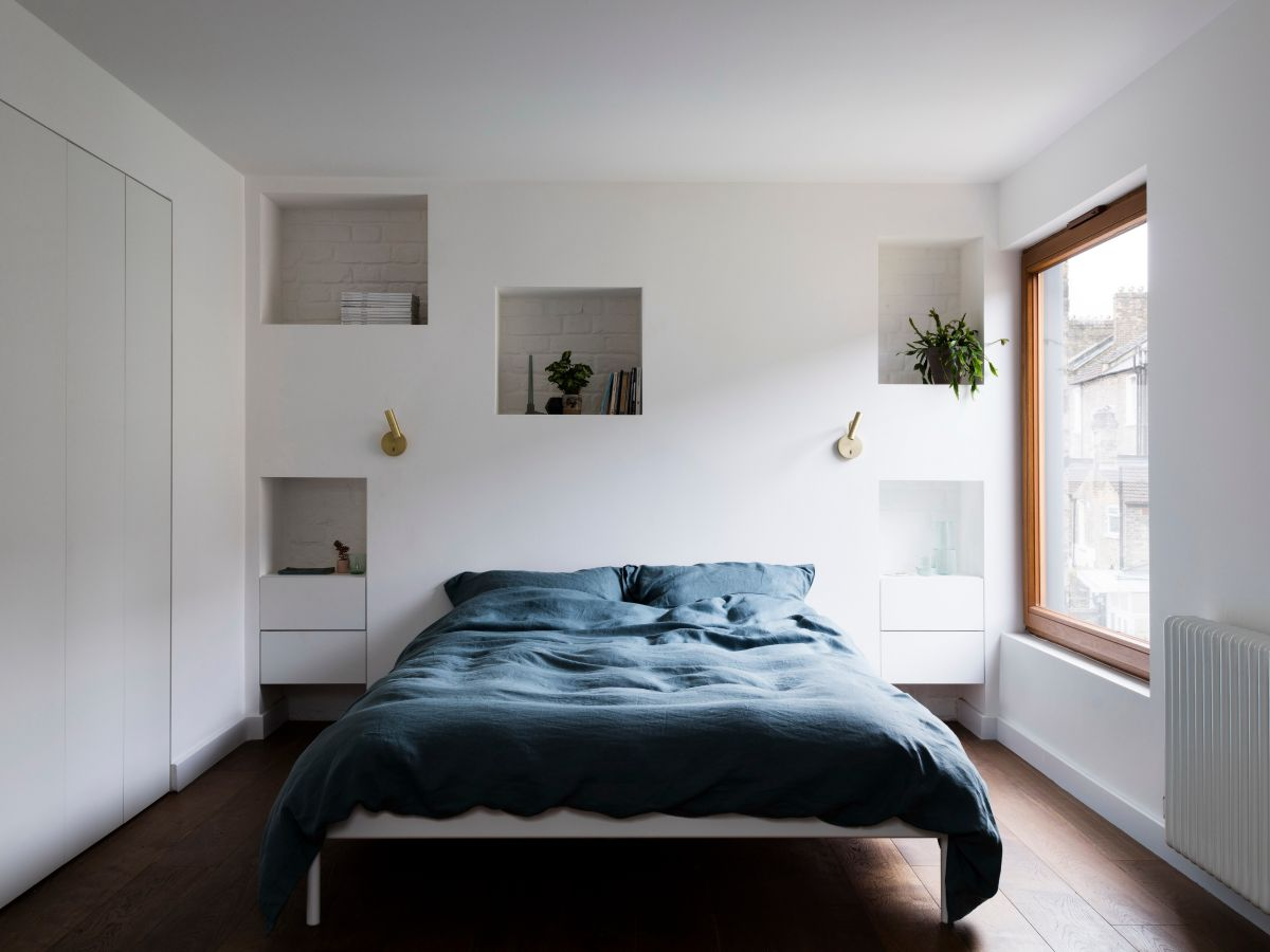 modern bedroom shelves that really bring the room together - Modern Bedroom Shelves That Really Bring The Room Together
