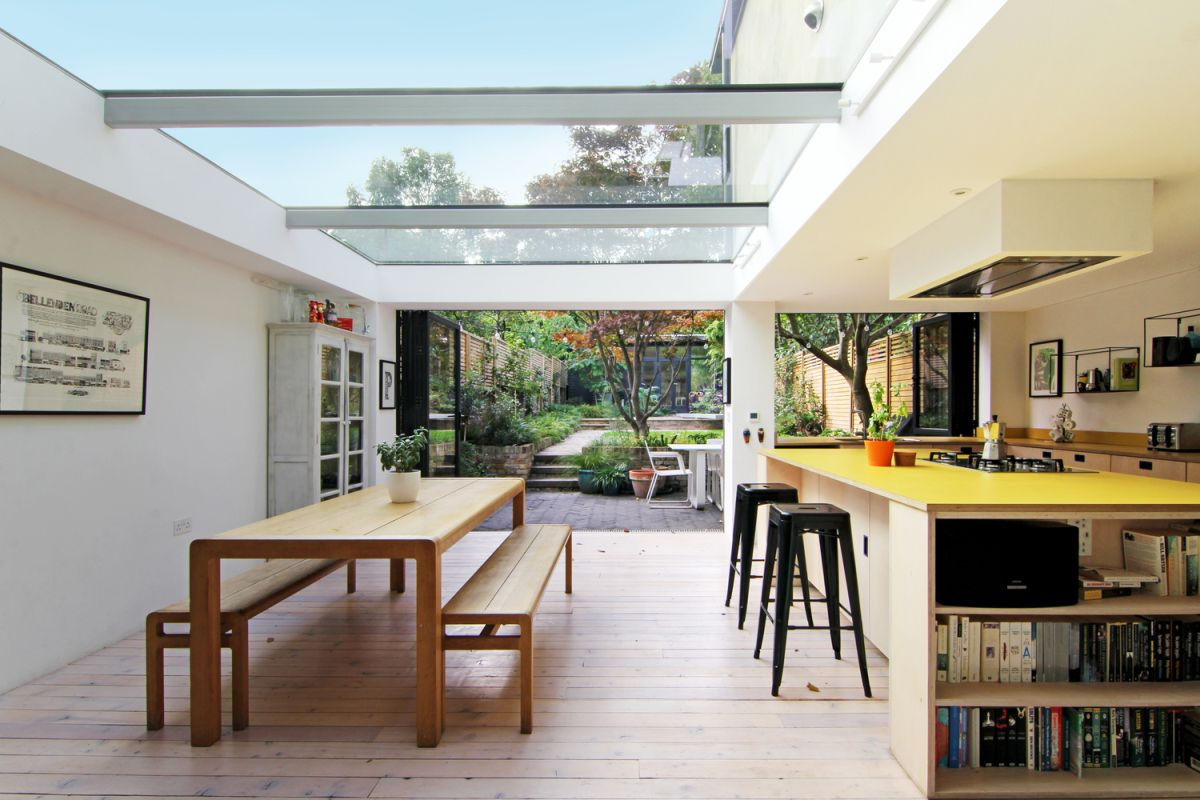 1562163598 181 london house extension with skylights and huge windows - London House Extension With Skylights And Huge Windows