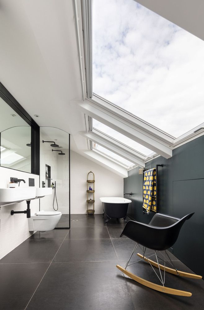 1562163598 205 london house extension with skylights and huge windows - London House Extension With Skylights And Huge Windows