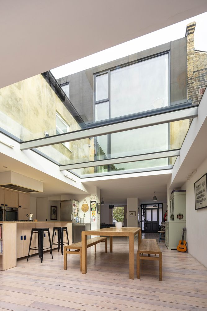 1562163598 578 london house extension with skylights and huge windows - London House Extension With Skylights And Huge Windows