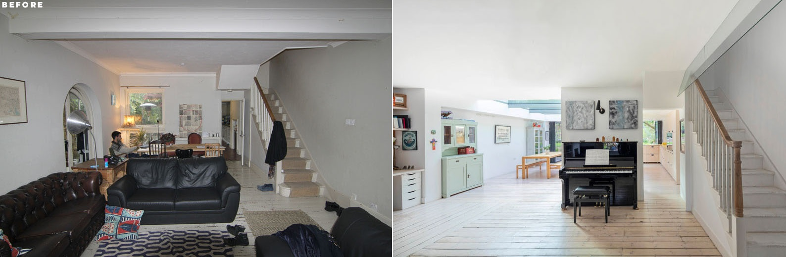 1562163598 622 london house extension with skylights and huge windows - London House Extension With Skylights And Huge Windows