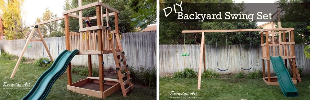 1562226821 267 how to build a great diy swing set for a perfect summer time - How To Build A Great DIY Swing Set For A Perfect Summer Time