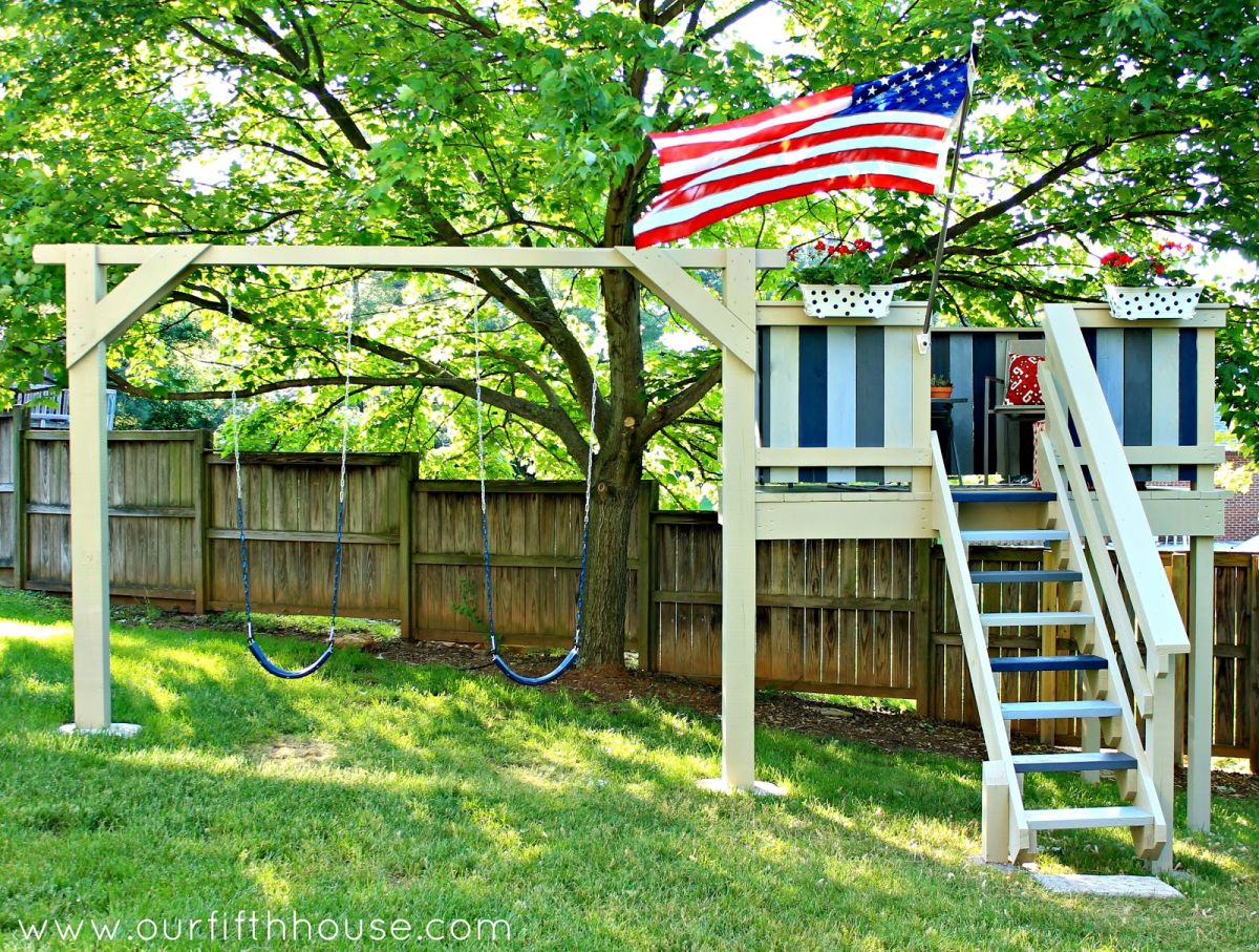 1562226821 364 how to build a great diy swing set for a perfect summer time - How To Build A Great DIY Swing Set For A Perfect Summer Time