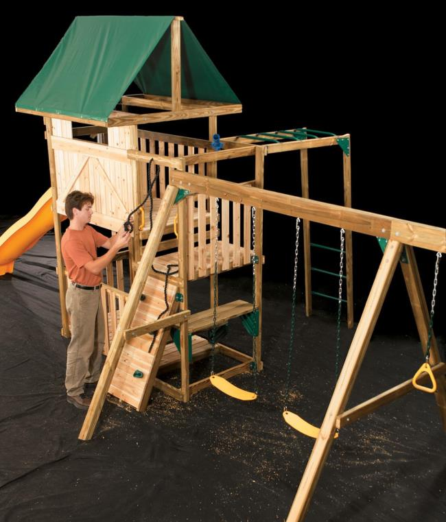 1562226821 640 how to build a great diy swing set for a perfect summer time - How To Build A Great DIY Swing Set For A Perfect Summer Time