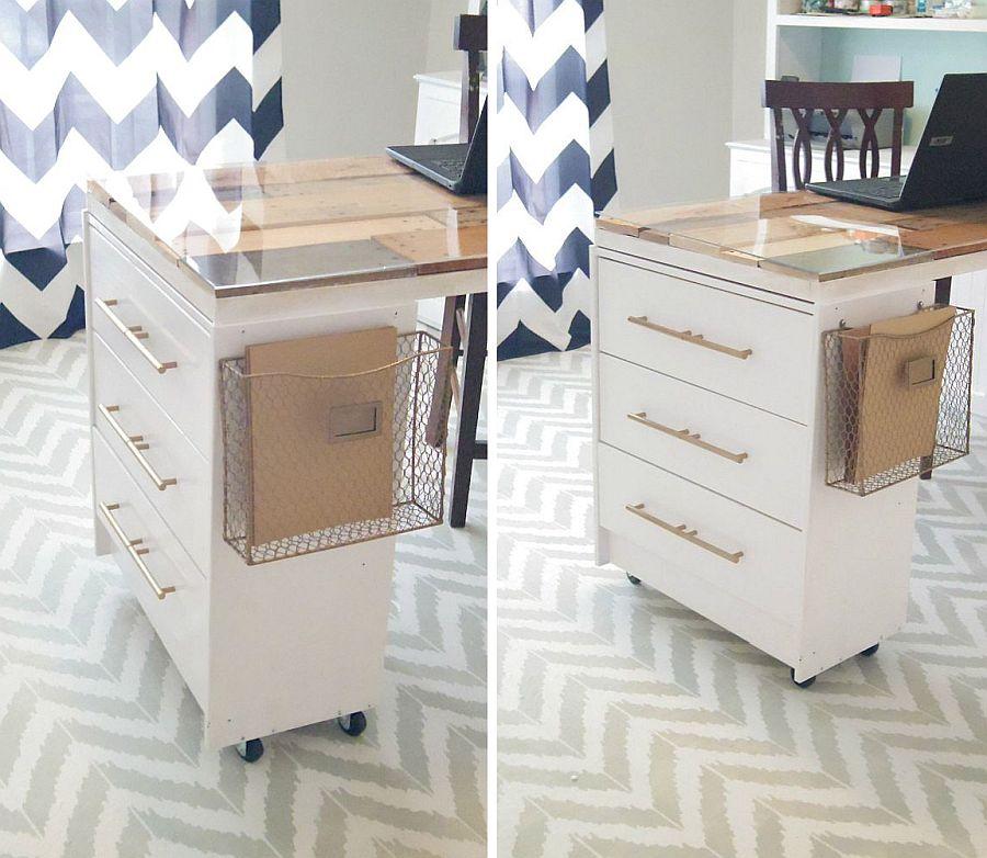 1562618322 505 20 diy craft tables and desks - 20 DIY Craft Tables and Desks