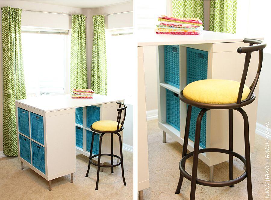 1562618322 576 20 diy craft tables and desks - 20 DIY Craft Tables and Desks