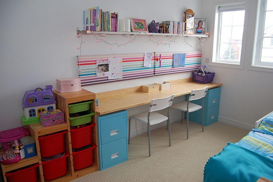 1562618322 732 20 diy craft tables and desks - 20 DIY Craft Tables and Desks