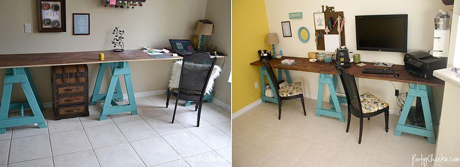 1562618322 762 20 diy craft tables and desks - 20 DIY Craft Tables and Desks