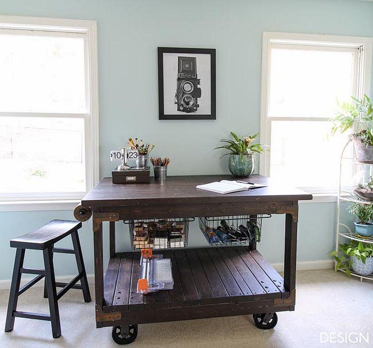 1562618322 829 20 diy craft tables and desks - 20 DIY Craft Tables and Desks