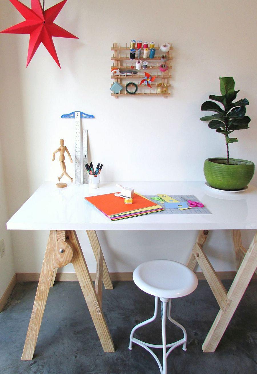 1562618322 975 20 diy craft tables and desks - 20 DIY Craft Tables and Desks
