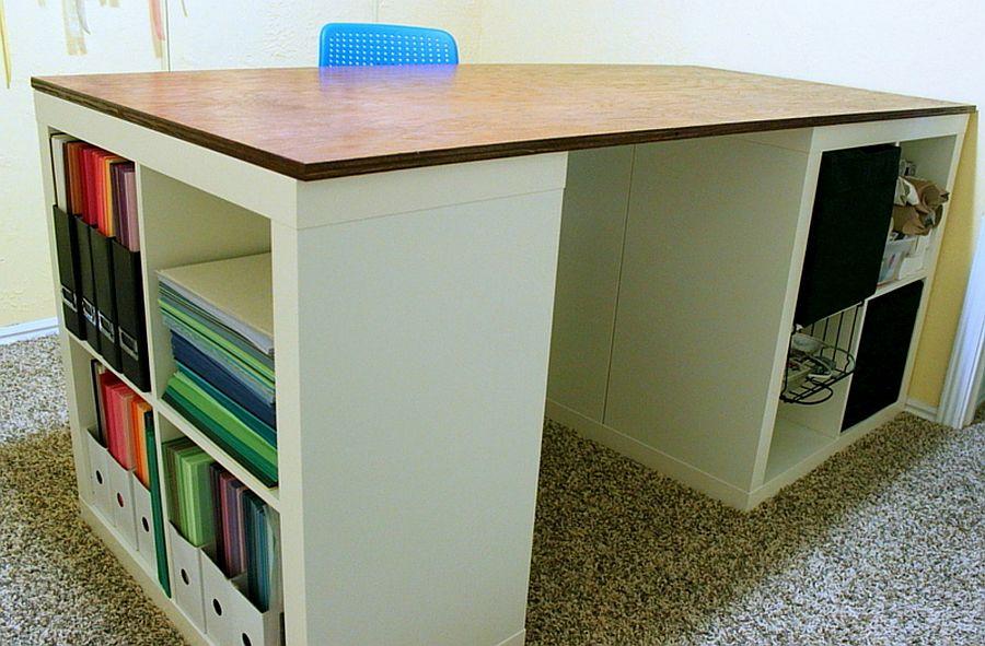 1562618324 810 20 diy craft tables and desks - 20 DIY Craft Tables and Desks