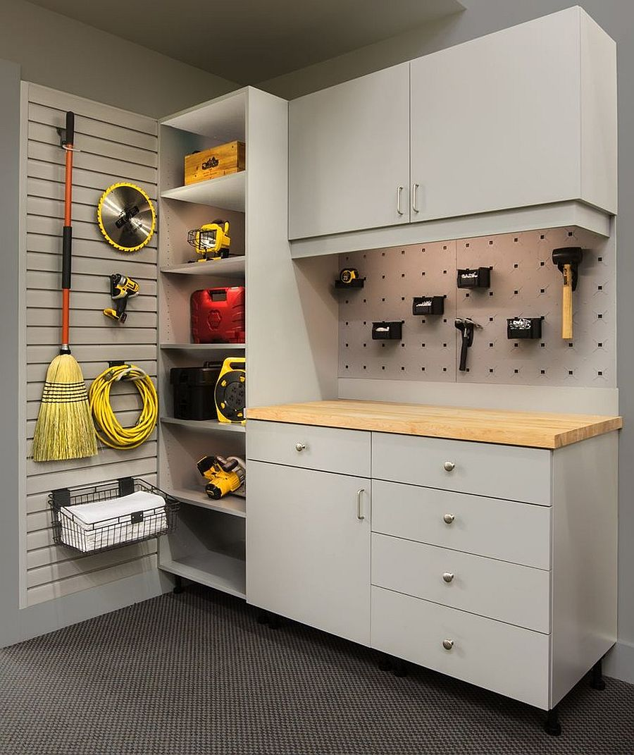 1562676627 103 25 garage organization tips and diy projects - 25 Garage Organization Tips and DIY Projects