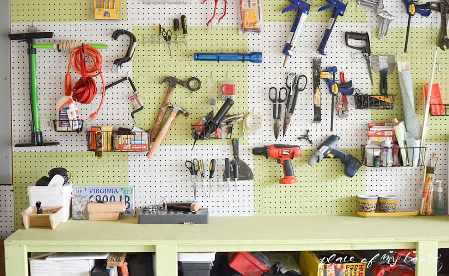 1562676627 399 25 garage organization tips and diy projects - 25 Garage Organization Tips and DIY Projects