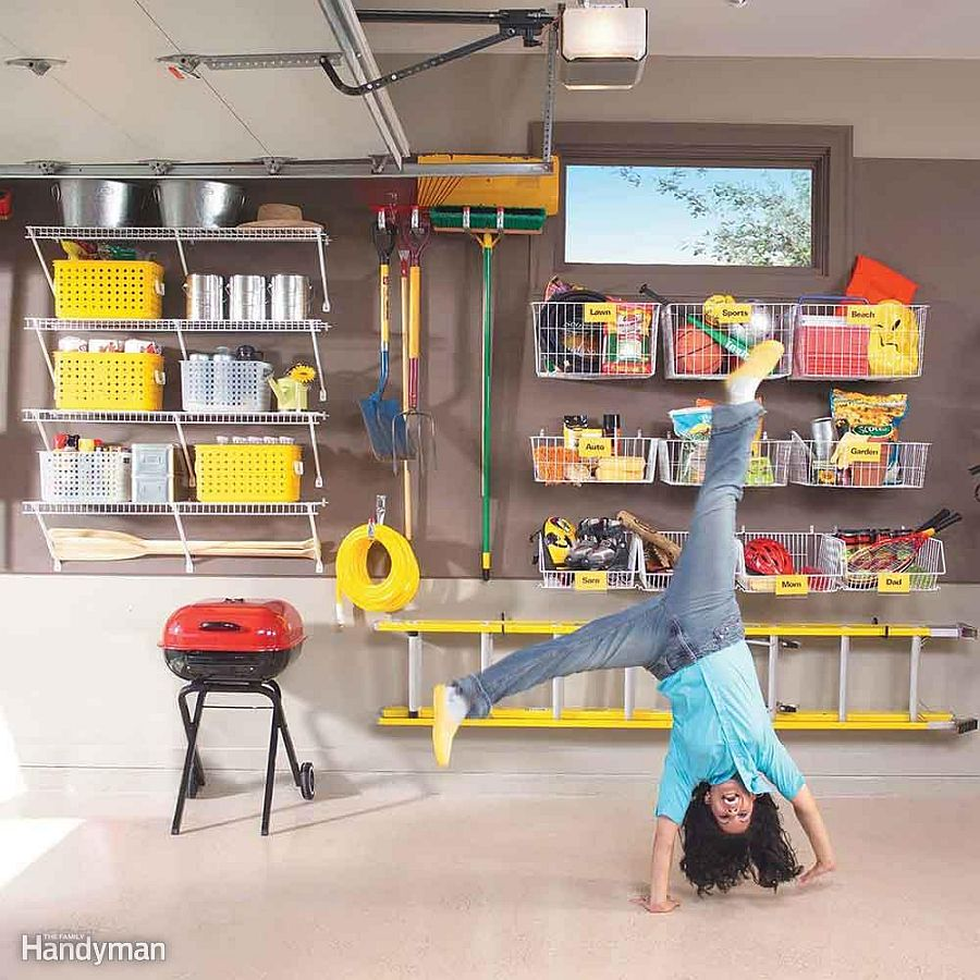1562676627 815 25 garage organization tips and diy projects - 25 Garage Organization Tips and DIY Projects