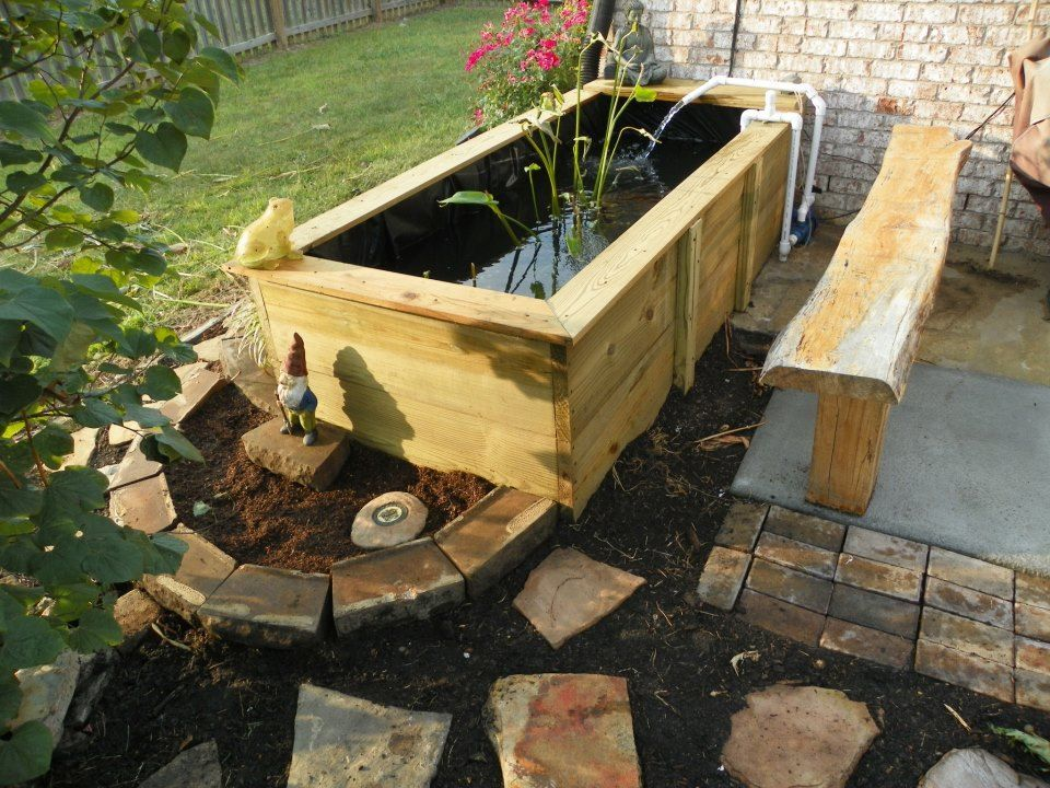 1562746613 264 how to add a water feature to your backyard diy pond ideas - How To Add A Water Feature To Your Backyard – DIY Pond Ideas